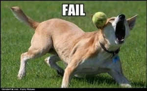 Ball Catch FAIL