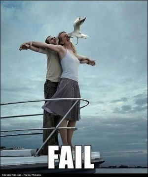 Real Life Titanic FAIL