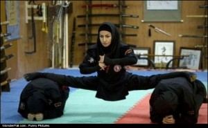 Iranian Female Ninja WIN