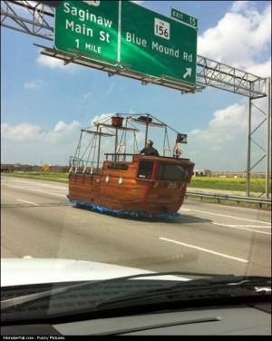 Pirate Car WIN