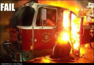 Fire Truck FAIL