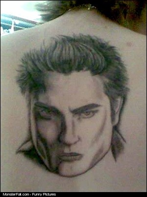 Monster Twilight Tattoo FAIL What A Waste Of