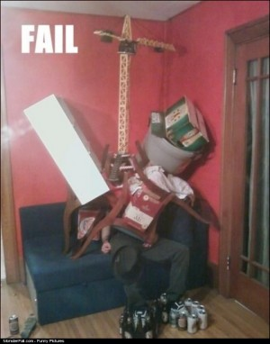 Sleeping At Party FAIL