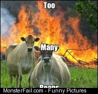 Cow Fart Fail Meme