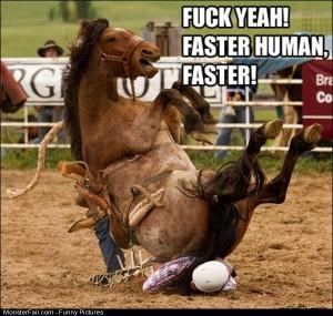 Pics Go Faster Human