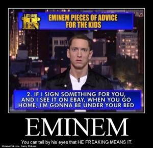Eminem Setting It Straight