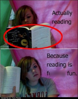 Tricking Your Parents Into Thinking Reading