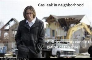Pics Gas Leak