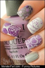 Fail Nail Art Designs nails