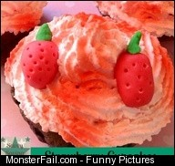 Cupcake Fondant Fail recipes cupcakes fail