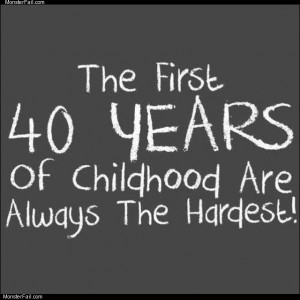 First 40 years