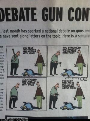 Pics Gun Control