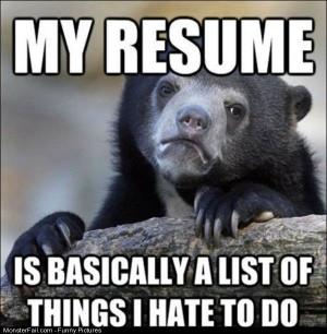Pics My Resume