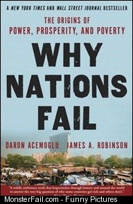Is it culture the weather Perhaps ignorance of what the right policies are Why Nations Fail The Origins of Power and Poverty By Daron Acemoglu James Robinson Click here to buy this eBook kobo ebooks