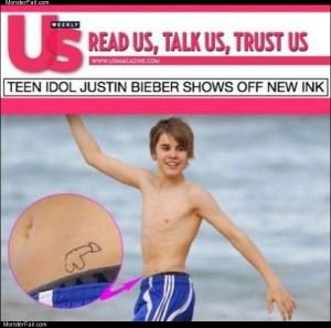 Teen idol justin beiber