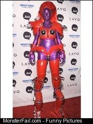Heidi Klum as a