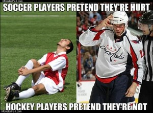 Soccer vs hockey