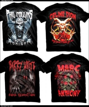Band shirts