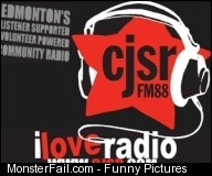 CJSR yeg yegmusic fail