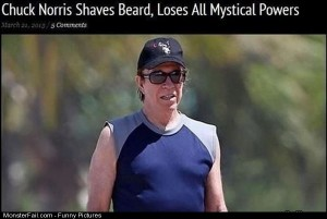 Pics Chuck Norris Shaves