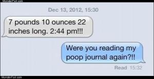 Poop journal