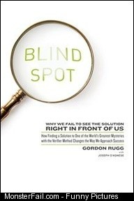 Blind Spot Why We Fail to See the Solution Right in Front of Us by Gordon Rugg Kobo eBook