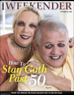 Stay goth
