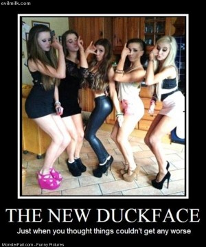 Pics The New Duck Face