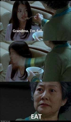 Grandma im full