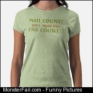 Mail Count Fail Count Shirts