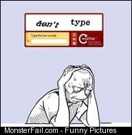 CAPTCHA code fail