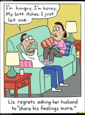 Husbands feelings