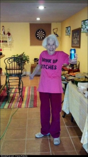 Pics Party Hard Grandma