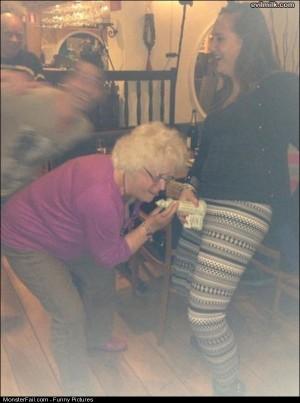 Pics Crazy Granny