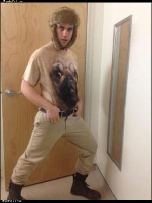 The pug man