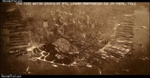Lower manhattan 1922