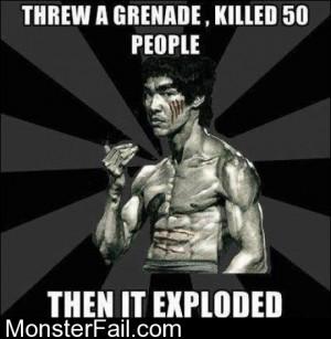 Threw A Grenade