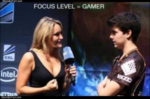Gamer ninja focus skills