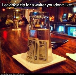 Pics Leaving A Tip