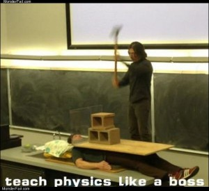 Teaching physics