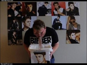 Bieber number one fan