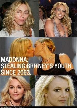 Pics Madonna And Britney