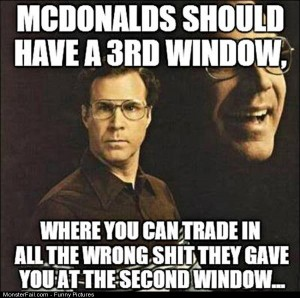 Pics Mcdonalds Window