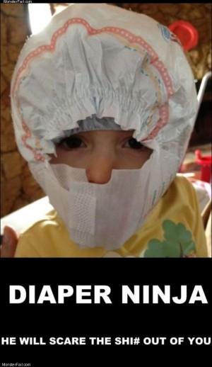 Diaper ninja