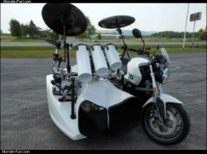 The drum bike