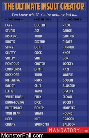 The Ultimate Insult Creator