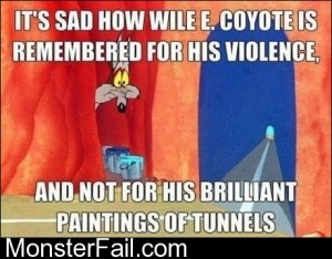 Poor Wile E