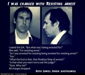 Pics Resisting Arrest