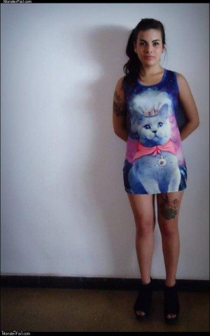 The cat dress