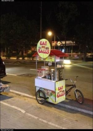 This guy sells balls